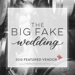 The Big Fake Wedding Logo